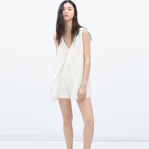 Zara Trafaluc Crossover Front Jumpsuit